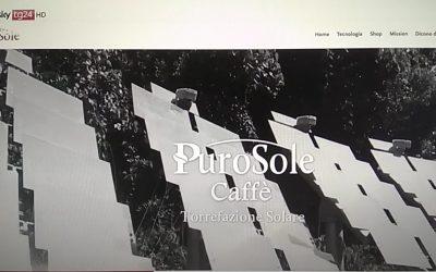 """D'Imperio Web su SkyTg24 con """"purosole.it"""""""