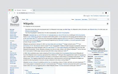 Buoni 20 anni Wikipedia!